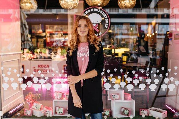 Rožnati oktober 2017: Marx ponosno podpira #pinkoctober z luštnimi roza majicami - Foto: Jani Ugrin, Arhiv Sportina