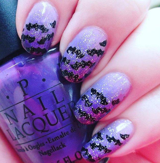1. Bleščeči netopirji Tudi netopirji so lahko glamurozni. (Stephanie Walpole via Instagram @sdwalpole)