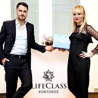 David Urankar in Sara Zakošek Ferenac (LifeClass Portorož) (foto: Aleksandra Saša Prelesnik )