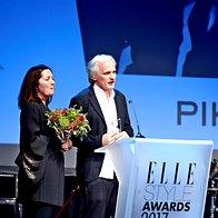 Katjuša Kranjc Kuhar in Rok Kuhar (Pikka), prejemnika nagrade Elle Dekor (foto: Primož Predalič)