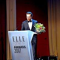 Andrej Škufca, prejemnik nagrade Elle Moški (foto: Primož Predalič)