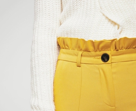 Ne veste, kako kombinirati rumene hlače? Kaj pravite na TOLE?