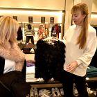Modna urednica Elle, Petra Windschnurer je štirim izbranim dekletom pomagala s stilskimi nasveti.  (foto: Igor Zaplatil)