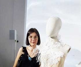 Tina Koder Grajzar: iz Idrije na londonski teden mode