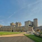 ... v prelepem gradu Windsor, zgrajenem v 11. stoletju. Okolica je prelepa ... (foto: Profimedia)