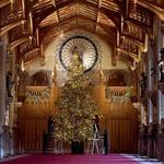 ... notranjost. Ravno v teh dneh je kraljica krasila tamkajšnje sobane. Krasna je tudi ... (foto: Profimedia)