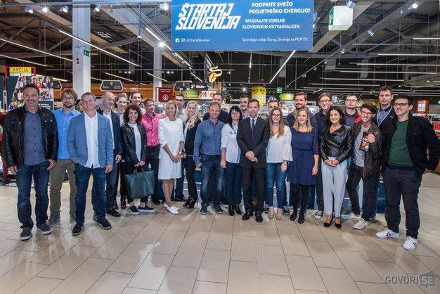 V nedeljo bomo dobili zmagovalca projekta Štartaj Slovenija - Foto: Štartaj Slovenija