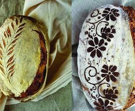 O uau! Poglejte kakšne prelepe hlebce peče ta Slovenka! (z receptom!)