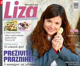 Nova Liza tudi tokrat le na izbranih prodajnih mestih v kompletu s knjigo o Goranu Dragiću!