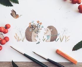 Nina Štajner je ilustratorka, ki je na Instagramu prepričala 230 tisoč sledilcev (in vas bo tudi!)
