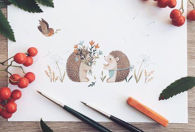 Nina Štajner je ilustratorka, ki je na Instagramu prepričala 230 tisoč sledilcev (in vas bo tudi!) - Foto: Nina Štajner