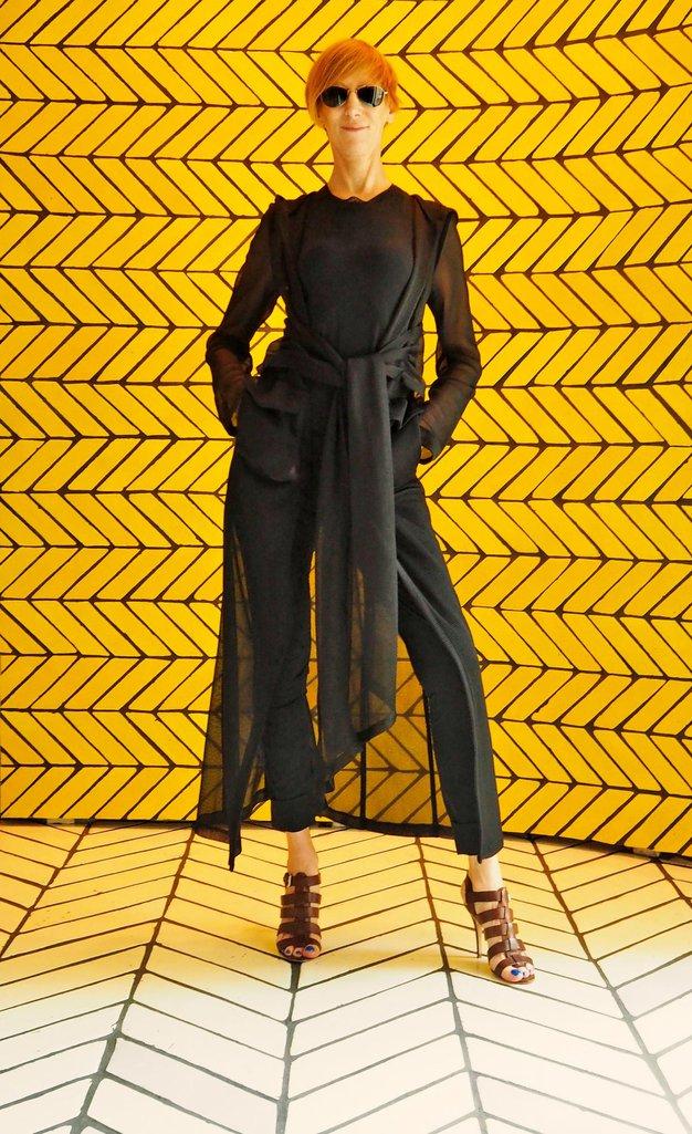 Jelena Pirkmajer: CLICHÉ odpira newjorški teden mode - Foto: Gregor Fajfar