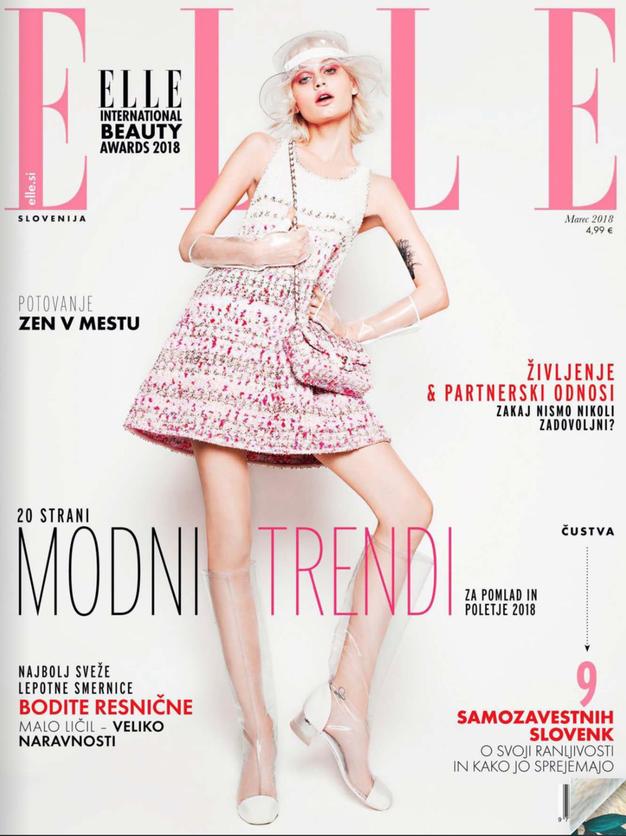 Zunaj je nova Elle! Preverite, kaj prinaša! - Foto: Elle Slovenia