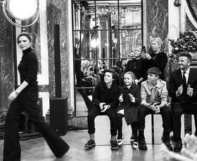 To je zagotovo najbolj prikupen prizor z newyorškega tedna mode (in krivi so Beckhamovi!)