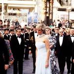 Princesa Diana je na filmski festival v Cannu leta 1997 oblekla kreacijo Catherine Walker, ki je bila kasneje prodana za 137.000 dolarjev. (foto: profimedia)