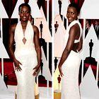 Igralka Lupita Nyong'o se je na podelitvi nagrad Oskarji v letu 2015 pojavila v obleki Calvin Klein, ki je bila okrašena z več kot 6.000 perlami, njena vrednost pa je bila ocenjena na 150.000 dolarjev. (foto: Profimedia)