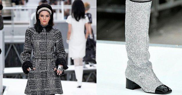 Našle smo DOSTOPNO različico Chanelovih svetlečih škornjev! - Foto: Profimedia