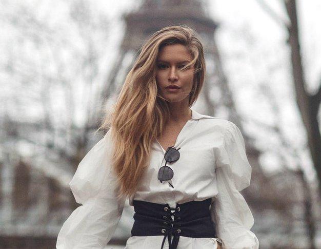To prehodno modno kombinacijo boste z lahkoto posnemale! (+ kako jo nosijo modne blogerke) - Foto: Maja Malnar/Instagram