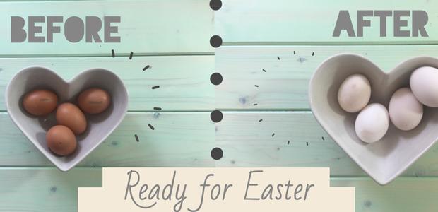 S TEM preprostim trikom navadna jajca spremenite v bela!