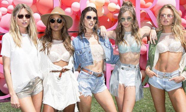 Zvezdnice so na Coachelli napovedale 2 modna trenda, in to sta ... - Foto: Profimedia