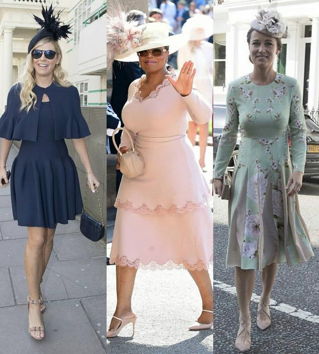 V ŽIVO: Kaj so zvezdnice oblekle na kraljevo poroko? - Foto: Instagram.com