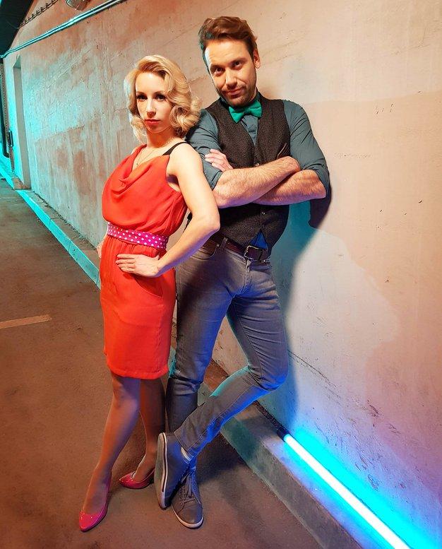 Natalija Gros in Rok Kunaver (Zvezde plešejo) pred veliko spremembo! - Foto: POP TV