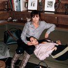 ... svoje mame Kim in babice Kris, s katerima je ... (foto: Profimedia)