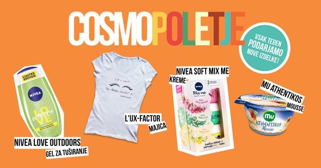 Drugi Cosmo poletni give-away - Foto: Cosmopolitan.si