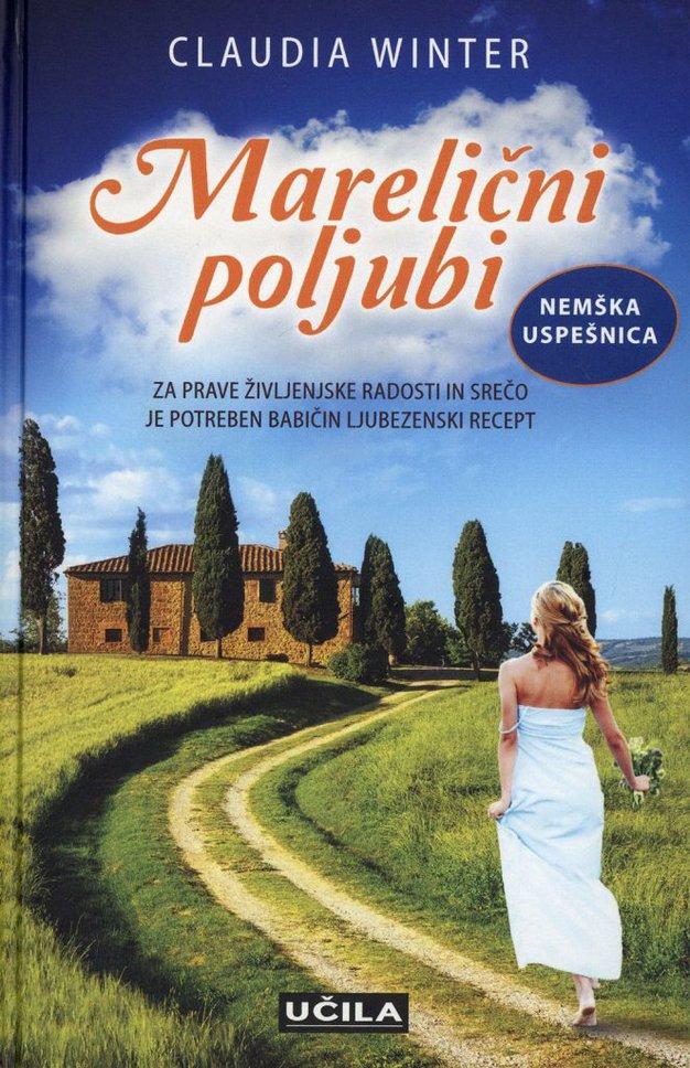 ... Marelični poljubi, avtorice Claudie Winter. Poleg romantičnega francoskega podeželja, sem se zdaj zaljubila še v idilično Toskano.