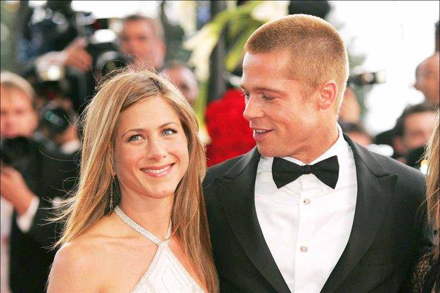 Brad Pitt in Jennifer Aniston imata veselo novico! - Foto: Profimedia