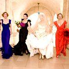 Resnična poročna obleka Sarah Jessice Parker je izgledala ZELOOOO drugače od pričakovane!