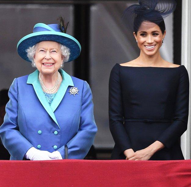 Kraljica je javno komentirala novico Meghan in Harryja - Foto: Profimedia