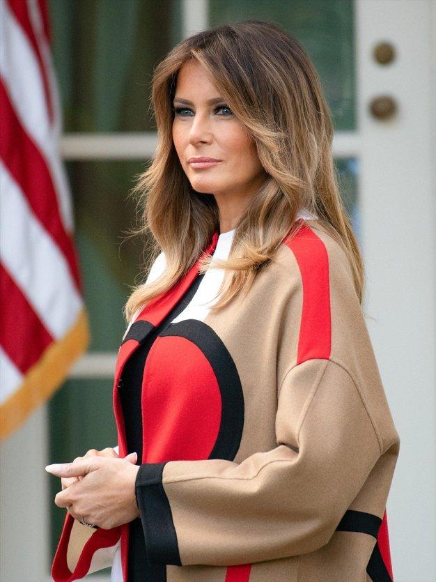 To je modni trend, na katerega prisega Melania Trump - Foto: Profimedia