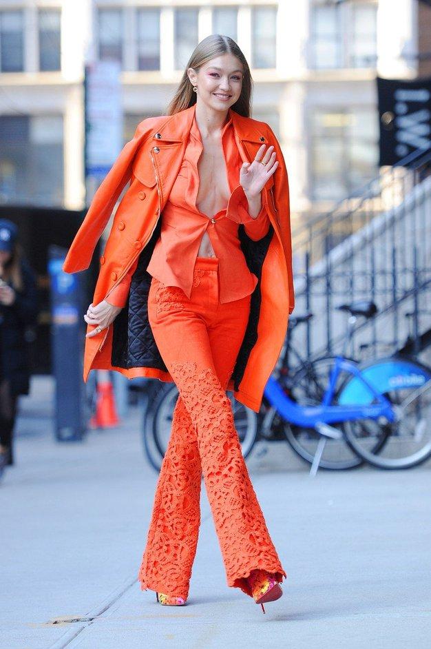 Poglejte, kaj je Gigi Hadid oblekla tik po razhodu z Zaynom! - Foto: Profimedia
