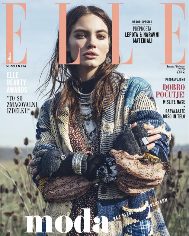 Izšla je nova Elle! Poglejte, kaj vam sporoča modna urednica - Foto: Elle