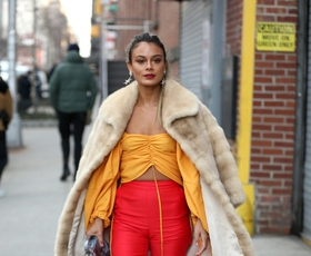 Top modne kombinacije z ulic modnega tedna v New Yorku!