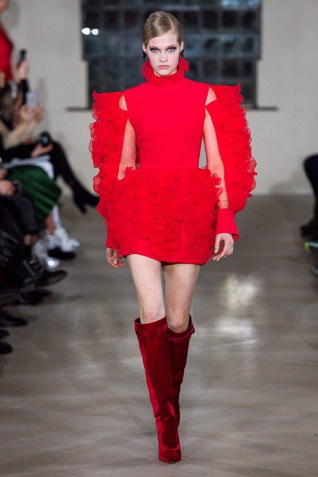6 ključnih trendov z modnega tedna v Londonu (izbor spletnega uredništva Elle) - Foto: Profimedia