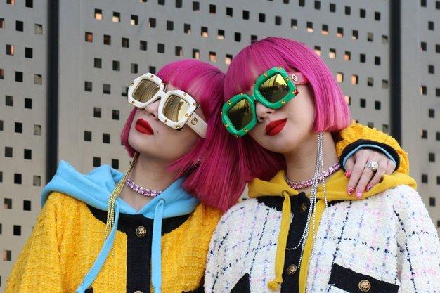 Oglejte si fotografije z modne revije ...