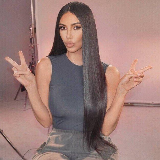Kim Kardashian je postala rdečelaska! - Foto: Profimedia