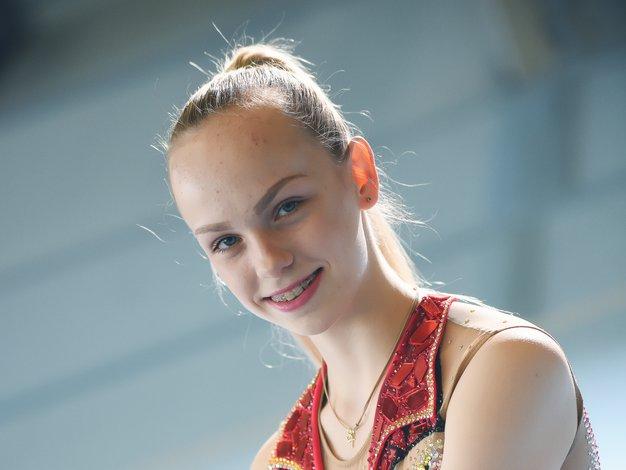 Mladi upi 2018: Spoznajte ritmično gimnastičarko Aleksandro Podgoršek - Foto: Mateja Jordovič Potočnik