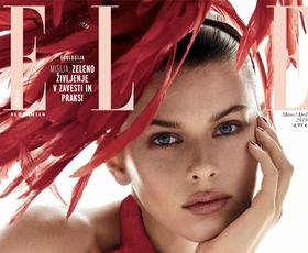 Tukaj je nova Elle! Poglejte, o čem ta mesec razmišlja modna urednica