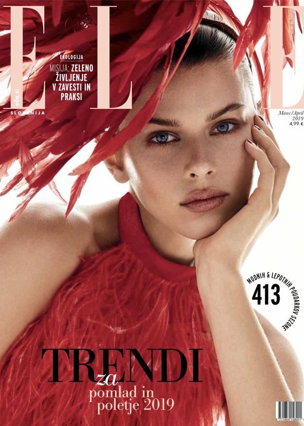 Tukaj je nova Elle! Poglejte, o čem ta mesec razmišlja modna urednica - Foto: Elle