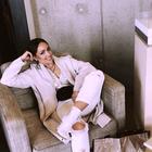 Poglejte, kako se je Nina Šušnjara lotila tega modnega trenda iz preteklosti