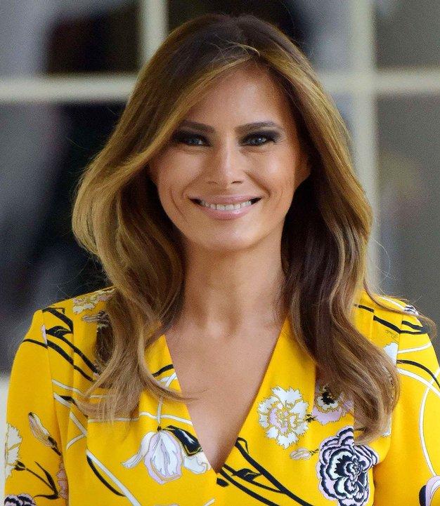 Poglejte obleko, ki jo je Melania Trump oblekla na svoj 49. rojstni dan - Foto: Profimedia