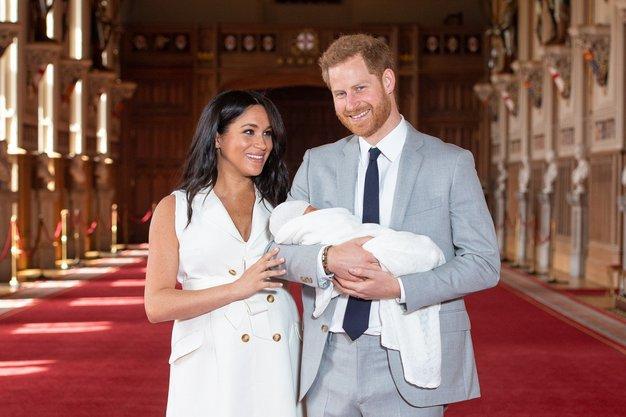 Harry in Meghan sta razkrila prikupno ime dojenčka, ki ga nihče ni pričakoval - Foto: Profimedia