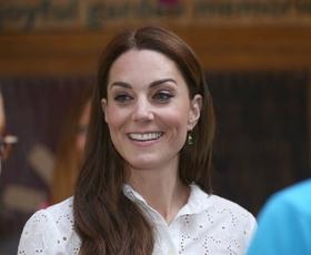 Kate Middleton je danes nosila popolne poletne hlače
