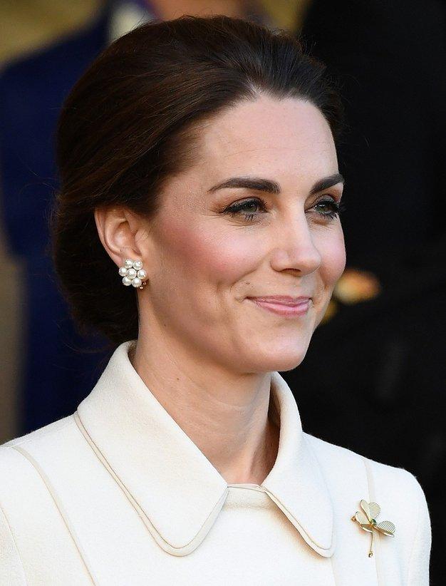 Uau! Poglejte, kako lep plašč je pravkar oblekla Kate Middleton - Foto: Profimedia
