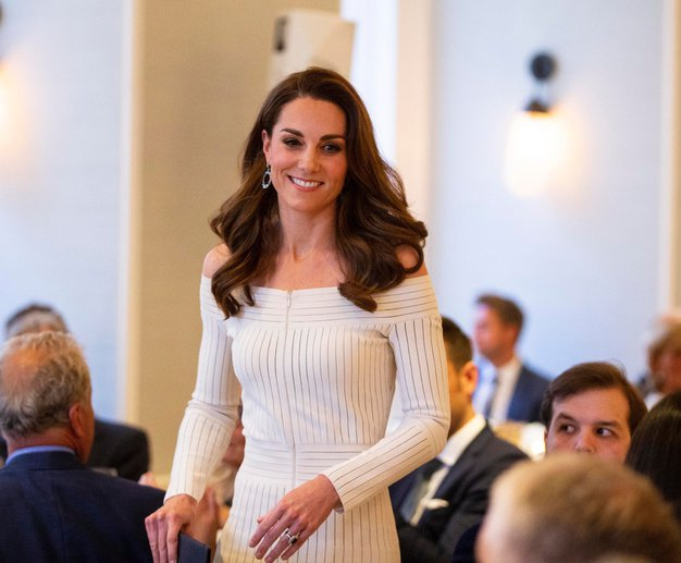 Poglejte čudovit stajling Kate ...