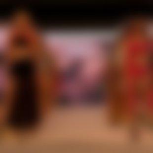Subtilna zapeljivost in barviti pridih Afrike – modna revija Lisca za pomlad-poletje 2020