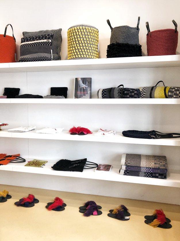 Almira Sadar je v Ljubljani odprla novo trgovino